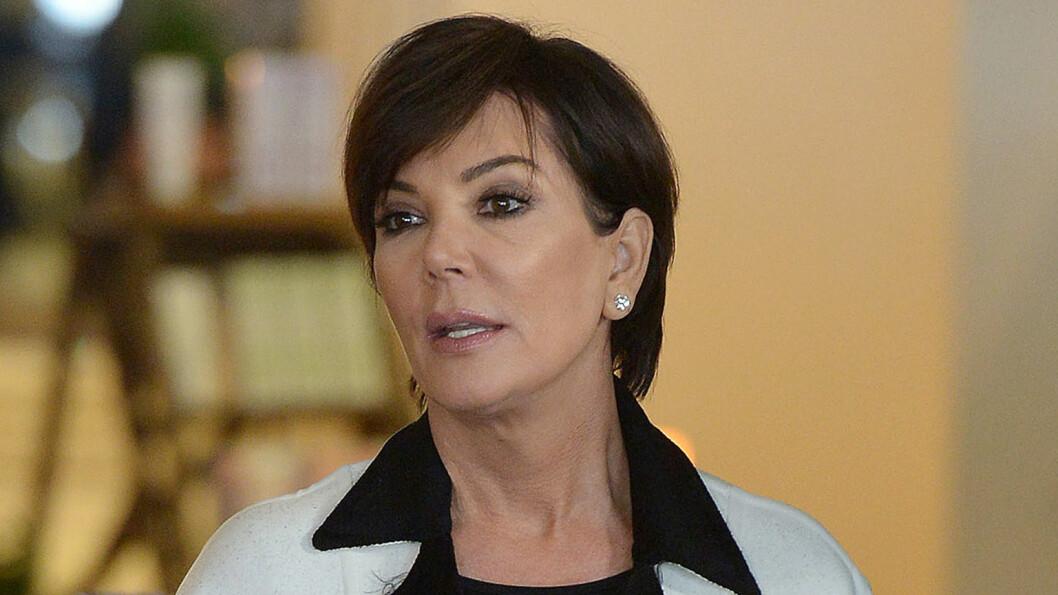 DRAMATISK: Forretningskvinnen og realitystjernen Kris Jenner kom seg heldigvis fra ulykkestedet med kun et brukket håndledd.  Foto: Broadimage