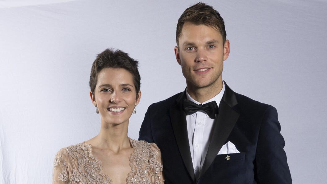 LYKKEN BRAST: Andreas Mikkelsen (27) og Margrethe Meiner (23) har vært sammen i mange år. Nå er forholdet over. Foto: Espen Solli