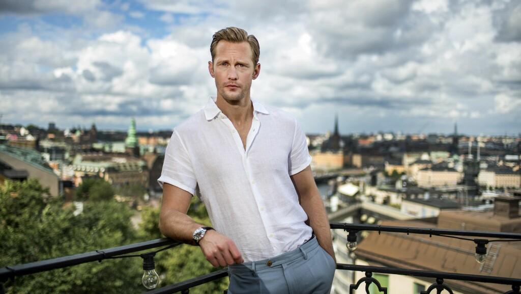 TALENTFULL SVENSKE: Alexander Skarsgård er en av Hollywoods mest ettertraktede skuespillere for tiden. Foto: NTB Scanpix