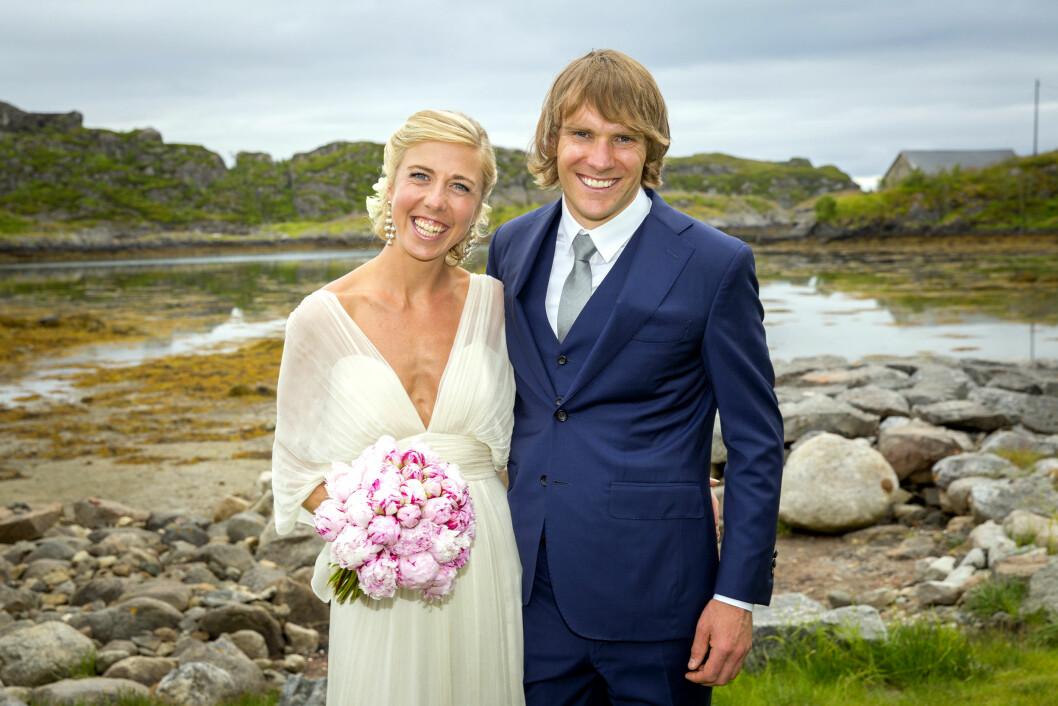 BABYDRØM: Kristin Størmer Steira og Devon Kershaw giftet seg i fjor sommer. Nå drømmer de om å stifte familie.  Foto: Espen Solli