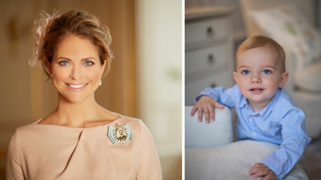 STOLT MAMMA: Onsdag 15. juni markerer ettårsdagen til prins Nicolas av Sverige. Prinsesse Madeline feirer sønnens bursdag med en koselig hilsen i sosiale medier. Foto: Anna-Lena Ahlström/ Brigitte Grenfeld/ Kungahuset.se