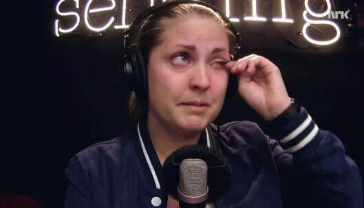 P3-Silje brast i gråt på direkten: - Kjente på en følelse jeg ikke har kjent på veldig lenge