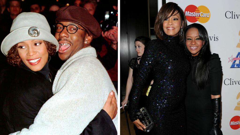 SLET MED SAMME PROBLEM: Bobby Brown og Whitney Houston slet begge med rusmisbruk da de var et par. Det samme gjorde datteren Bobbi Kristina.  Foto: NTB scanpix