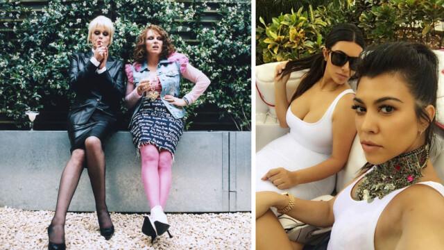 ceaad516d85a STOR KONTRAST  Joanna Lumley og Jennifer Saunders fikk mange fans med den  elleville komiserien «