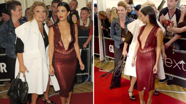 d2528e293666 BLE SATT I SKYGGEN  Etter at den britiske skuespilleren Jennifer Saunders  «fotobombet» realitystjernen