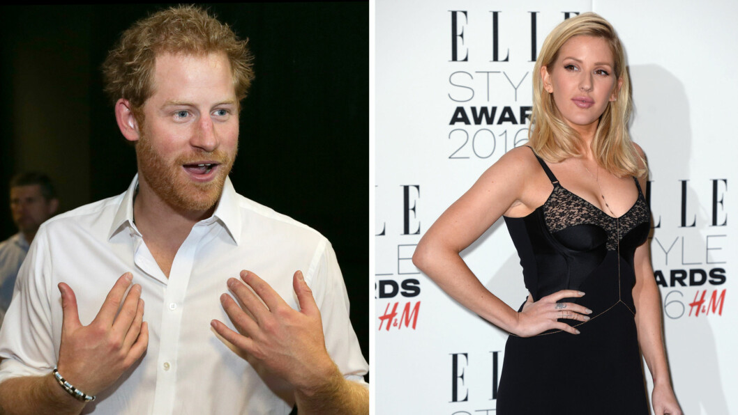 NY ROMANSE?: Ifølge britiske tabloidaviser skal prins Harry ha funnet tonen med sangstjernen Ellie Goulding. De to skal ha flørtet og kysset på en polokamp i England nylig.  Foto: NTB Scanpix