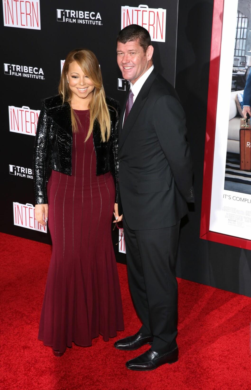 NYTT BRYLLUP: Mariah skal stå brud for tredje gang når hun gifter seg med forloveden James Packer.  Foto: wenn.com