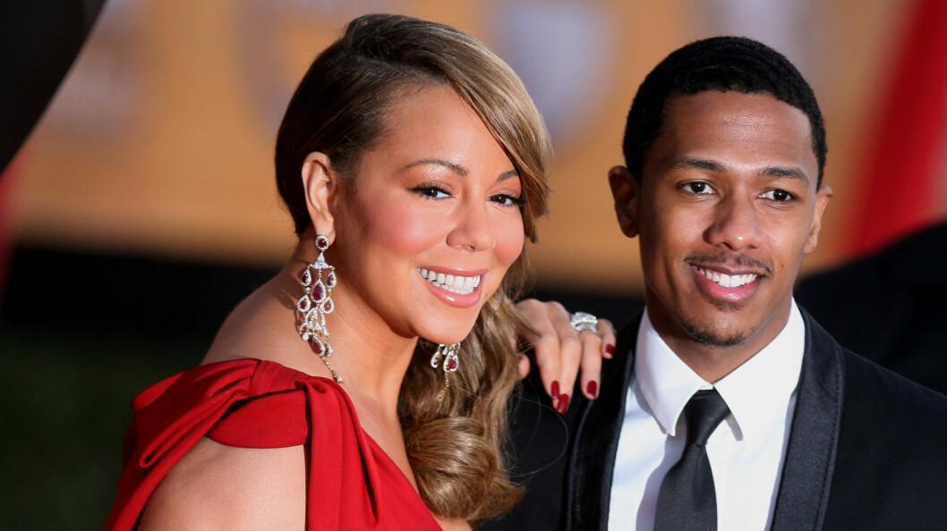 FORTSATT GIFT: To år etter bruddet er Mariah Carey og Nick Cannon fortsatt gift. Årsaken skal være at Nick nekter å signere skilsmissepapirene fordi han fortsatt har følelser for ekskjæresten.  Foto: Pa Photos