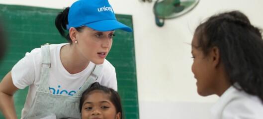 Katy Perry: - Møtet med barna var hjerteskjærende