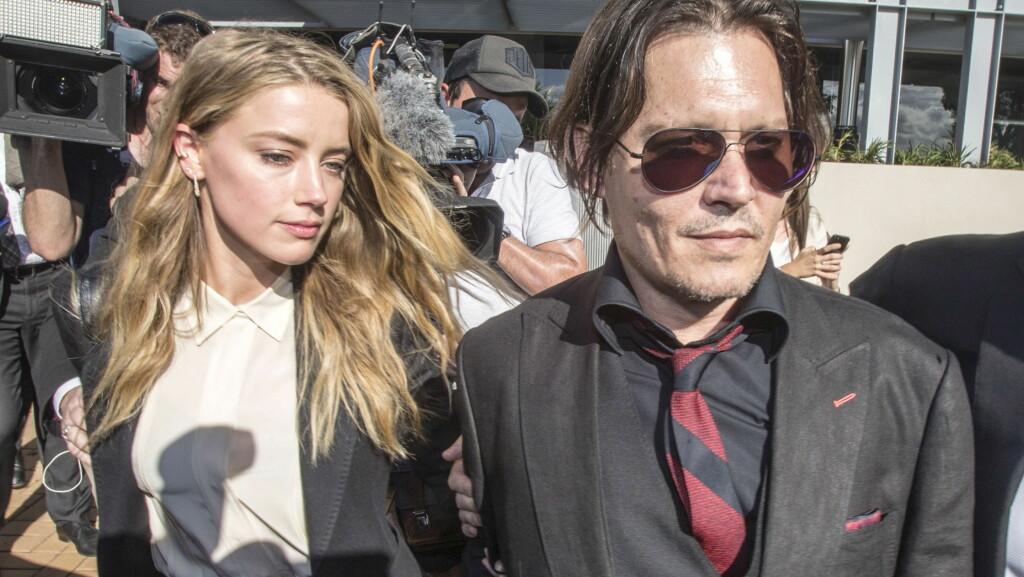 BITTER STRID: Amber Heard og Johnny Depp krangler så busta fyker, etter at hun anklaget ham for mishandling. Nå har hun også saksøkt Depps venn fordi han anklager henne for løgn. Foto: Reuters