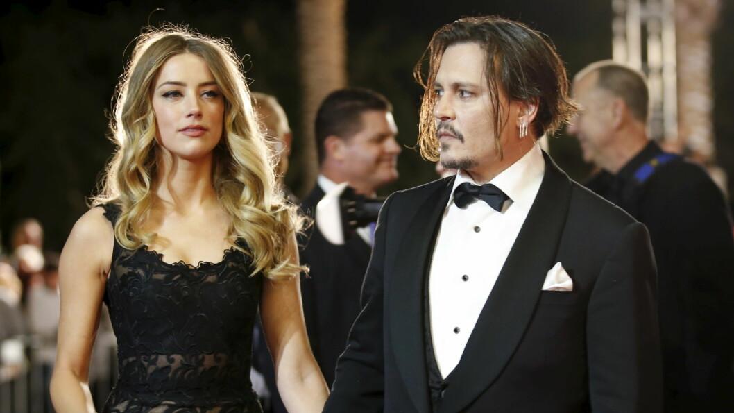 NYE ANGREP: En venninne av Amber Heard hevder hun oppdaget skuespilleren kraftig forslått etter at hun hadde kranglet med Johnny Depp. Foto: Reuters