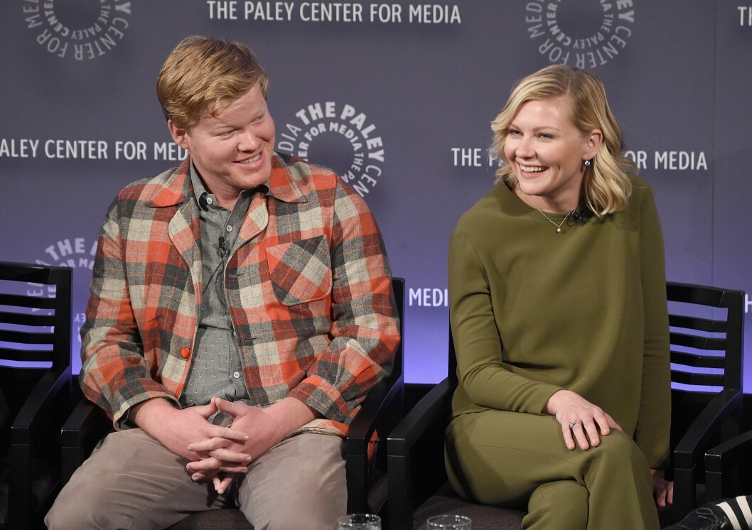 HETE FØLELSER: Hverken Jesse Plemons eller Kirsten Dunst har hittil kommentert påstandene om at de er blitt mer enn venner. Foto: Afp