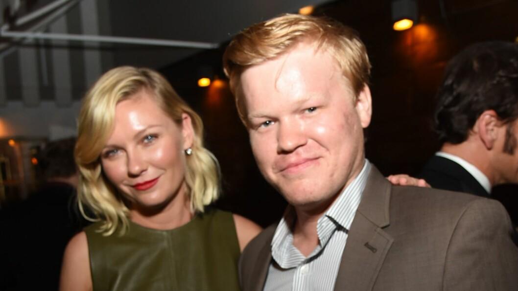 KOBLES TIL KOLLEGAEN: Kirsten Dunst og Jesse Plemons spiller mann og kone i TV-serien «Fargo». Nå svirrer ryktene om at de også har funnet tonen privat. Foto: Rex Features
