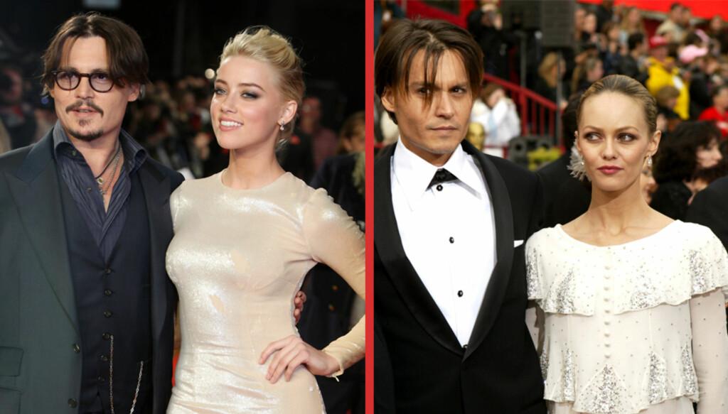 STØTTER EKSEN: Vanessa Paradis bodde med Depp i fjorten år og hevder at han aldri var voldelig mot henne. Hun har skrevet en støtteerklæring til eksmannen som i 2012 forlot henne for Amber Heard, som hevder Depp mishandlet henne.  Foto: NTB Scanpix