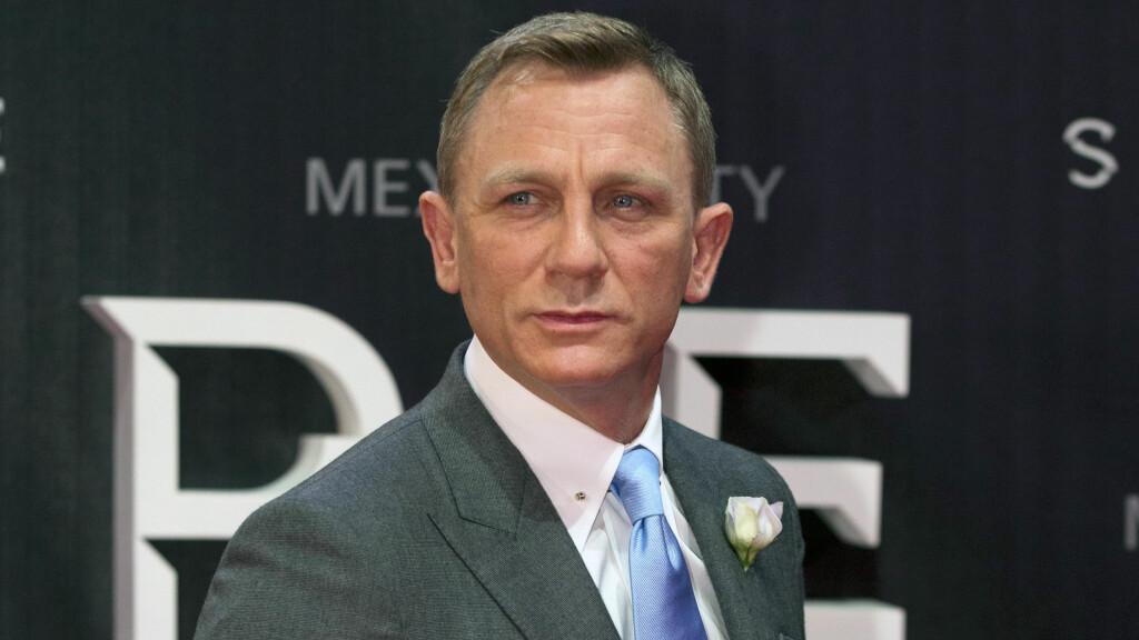 TAKKET NEI: Daniel Craig er tydelig på at han ikke lenger vil spille den kjente karakteren James Bond.  Foto: Ap