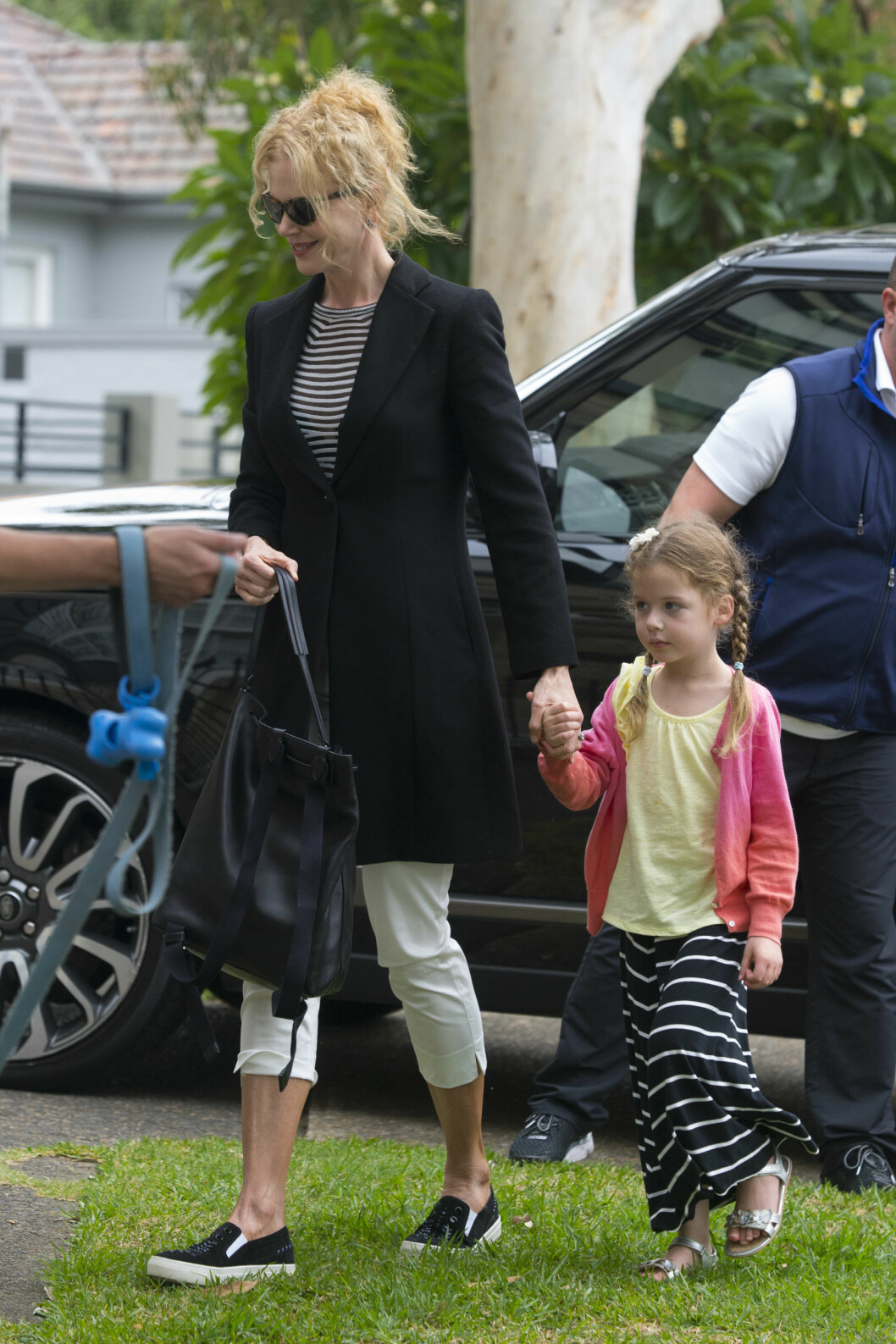 MOR OG DATTER: Nicole og Keitn har to barn sammen. Her er skuespilleren med deres yngste datter Faith i Sydney i mars.   Foto: NTB Scanpix