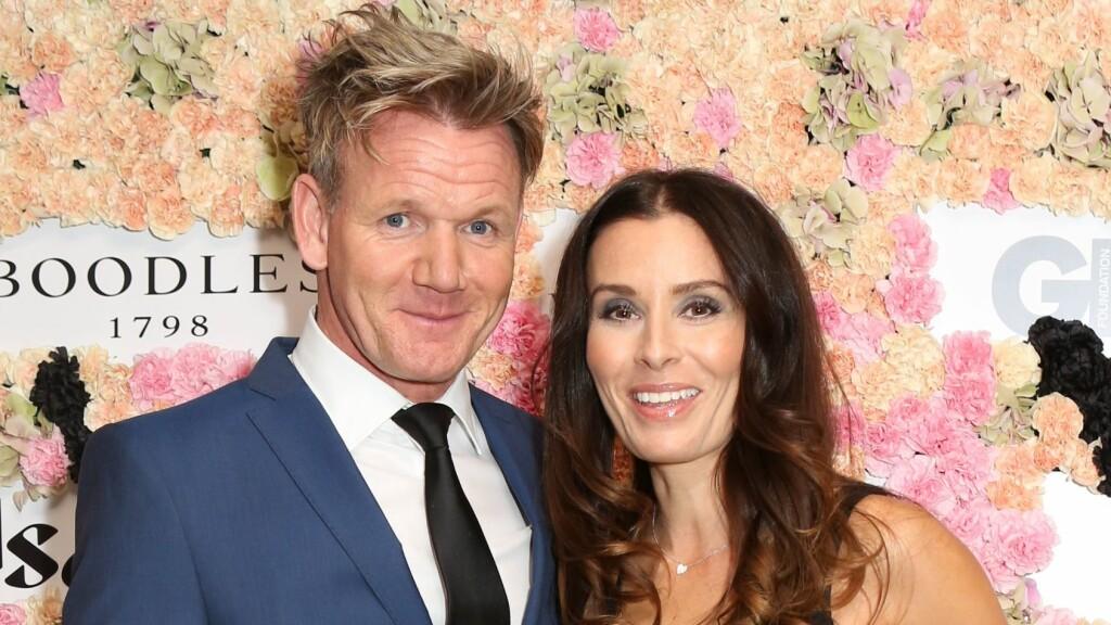 AVSLØRTE BABYNYHET: Gordon Ramsay og kona Tana venter sitt femte barn sammen.  Foto: Rex Features