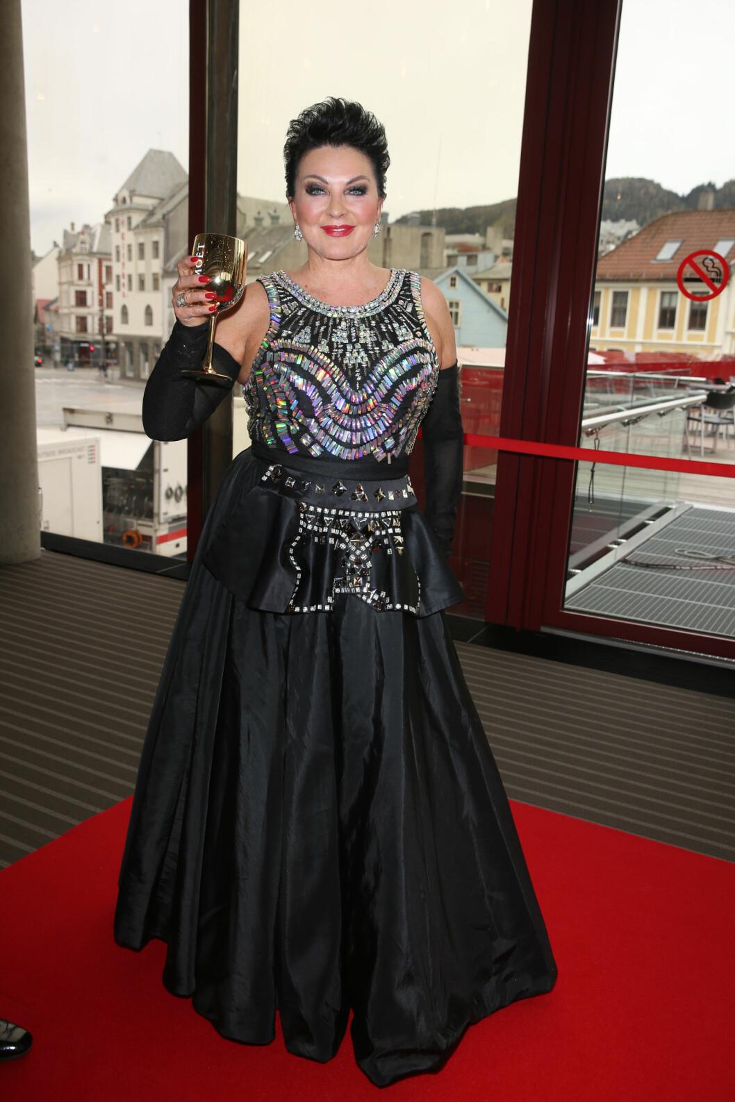 <strong>PÅ FEST:</strong> Lilli Bendriss. Foto: Andreas Fadum, Se og Hør
