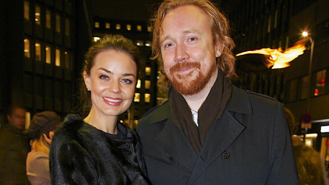 <strong>GIFTER SEG:</strong> Kjendisparet Agnes Kittelsen og Lars Winnerbäck forlovet seg i fjor.