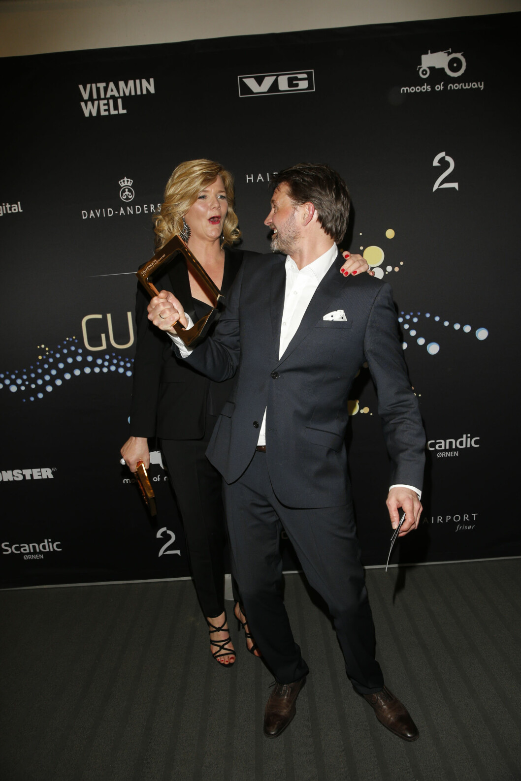 FEIRET: Thomas Numme og Anne Lindmo feiret sammen i fjor.