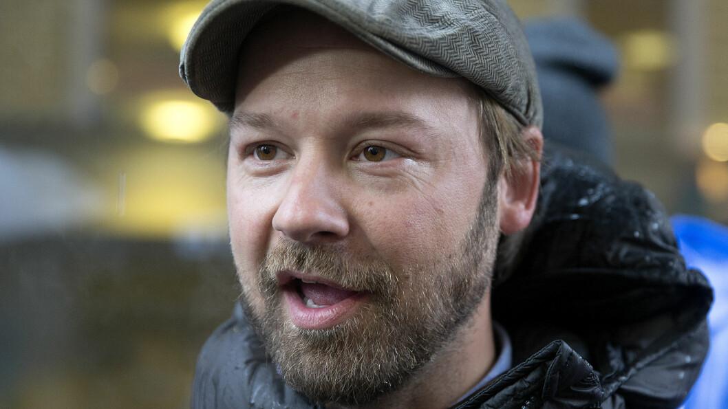 BLANT DE NOMINERTE: Fredag ble det kjent at Petter Nyquist, mannen bak TV-suksessen «Petter uteligger» på TV 2, kan vinne Gullruten i tre kategorier. Svein Stang fra serien er dessuten nominert i «Årets deltaker»-kategorien.  Foto: NTB scanpix