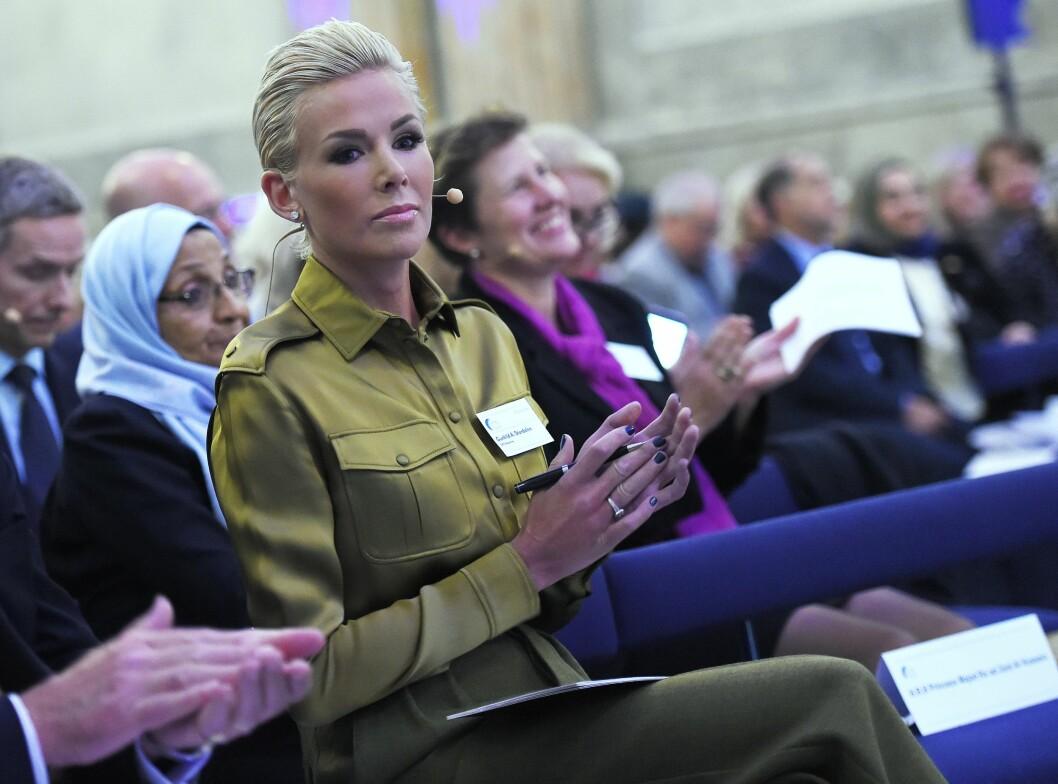 ALVORLIG SYK: Gunhild Stordalen lider av en svært sjelden og alvorlig bindevevssykdom, og har gjennom gått en rekke behandlinger.  Foto: Aftonbladet