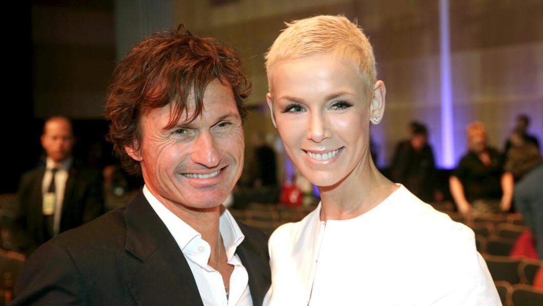 <strong>STOR STØTTE:</strong> Gunhilds ektemann Petter har vært der for kona hele veien. Paret giftet seg i 2010.  Foto: NTB scanpix