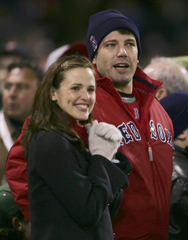 <strong>I 2004:</strong> Jennifer Garner og Ben Affleck nyforelsket høsten 2004.  Foto: Ap