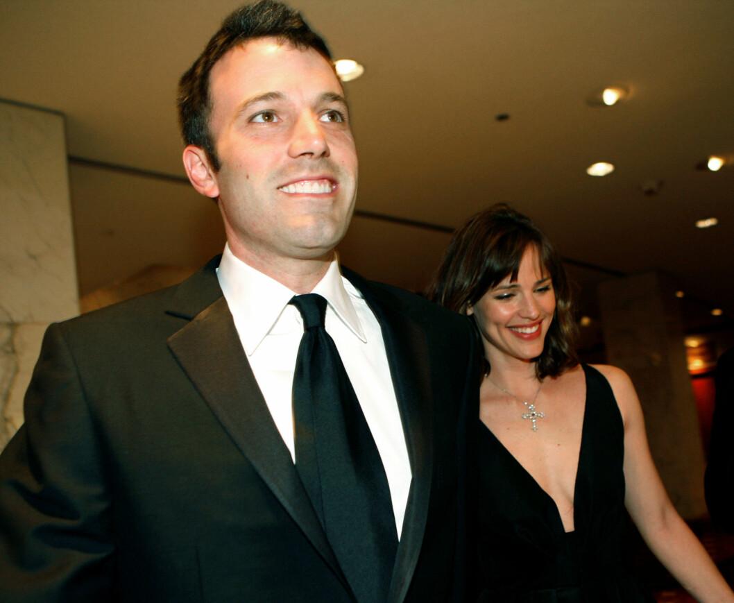 <strong>VÅREN 2008:</strong> Et smilende stjernepar ankommer årets White House Correspondents' Association-middag en halvtime for sent.  Foto: AFP