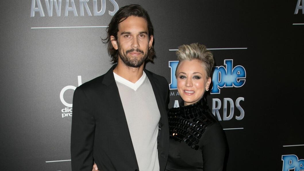 BRUDD: For et halvt år siden kom nyheten om at Kaley Cuoco og Ryan Sweeting gikk hver til sitt etter mindre enn to år som mann og kone. Foto: wenn.com