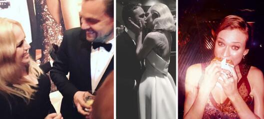 Se stjernenes private Oscar-bilder