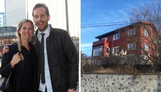 Førerløs lastebil skled inn i huset til Morten Ramm