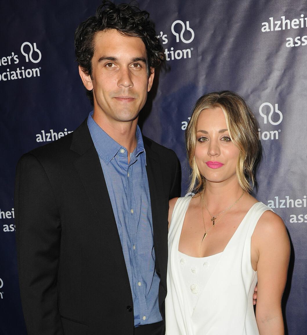 KORTVARIG EKTESKAP: Kaley Cuoco og Ryan Sweeting var gift i kun 21 måneder før bruddet ble et faktum for et halvår siden.  Foto: wenn.com
