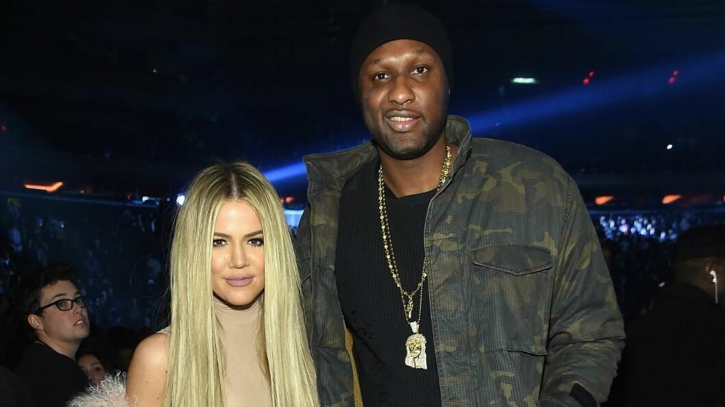 DRØMMEMANNEN: Khloé Kardashian innrømmer at hun gjerne vil ordne opp med eksen Lamar.  Foto: Afp