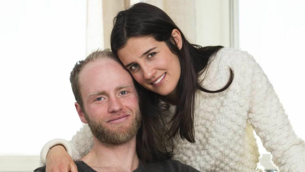 FÅR BABY I APRIL: Martin Johnsrud Sundby og kona gleder seg stort til å bli foreldre igjen.  Foto: Espen Solli