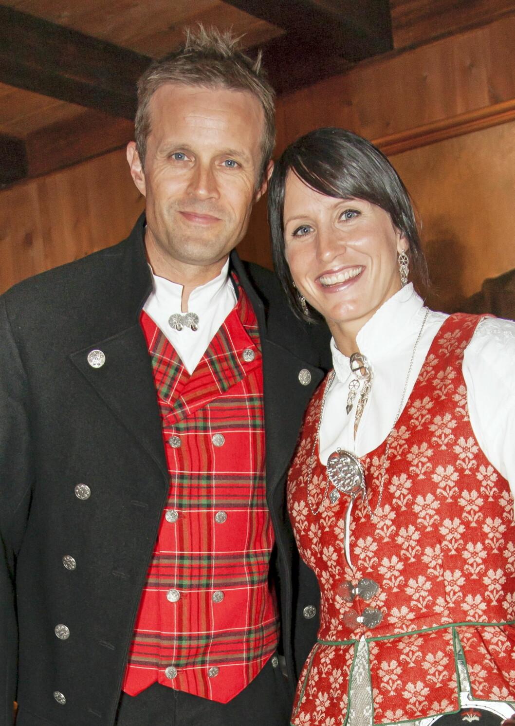 <strong>NYBAKTE FORELDRE:</strong> Marit og Fred Børre ble foreldre i romjulen etter å ha vært kjærester i ti år.  Foto: Erlend Haugen