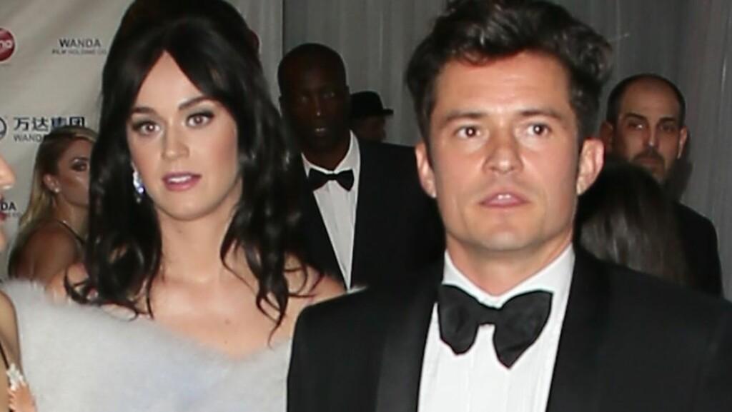 FANT TONEN: Under Golden Globe Awards 10. januar plukket mange opp den gode kjemien Orlando Bloom og Katy Perry hadde mellom seg. I tiden etterpå har paret blitt sett sammen oftere og oftere. Foto: Splash News