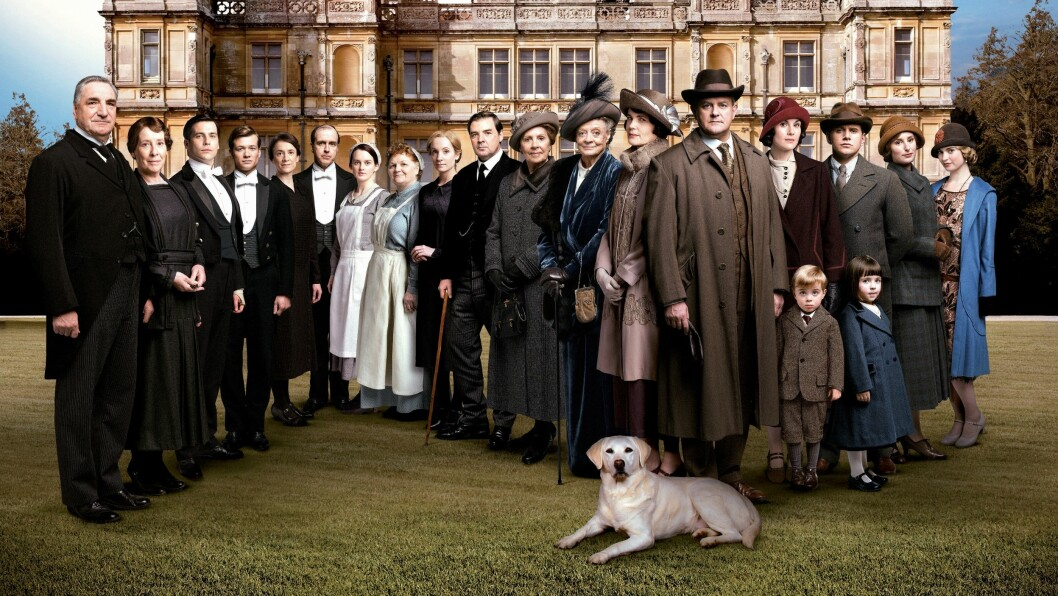 POPULÆR GJENG: I høst ble siste sesong av Downton Abbey sendt på NRK1.  Foto: ITV