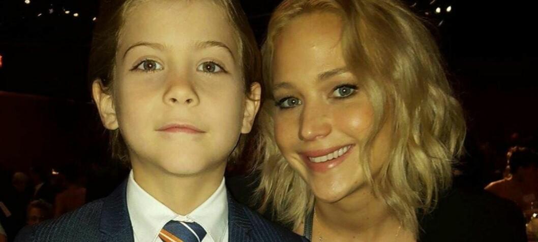Jennifer Lawrence ble sjarmert i senk av Jacob (9)