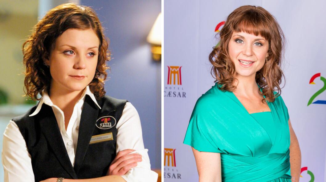 <strong>FEIRET:</strong> Ingrid Nordby var på plass da TV2 feiret 3000 innspilte episoder av «Hotel Cæsar».  Foto: TV2 / Se og Hør