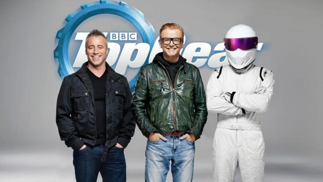 <strong>NY JOBB:</strong> Sammen med Chris Evans skal Matt LeBlanc lede BBC-serien «Top Gear». Det er fortsatt ukjent hvem den tredje programlederen er. Foto: Top Gear