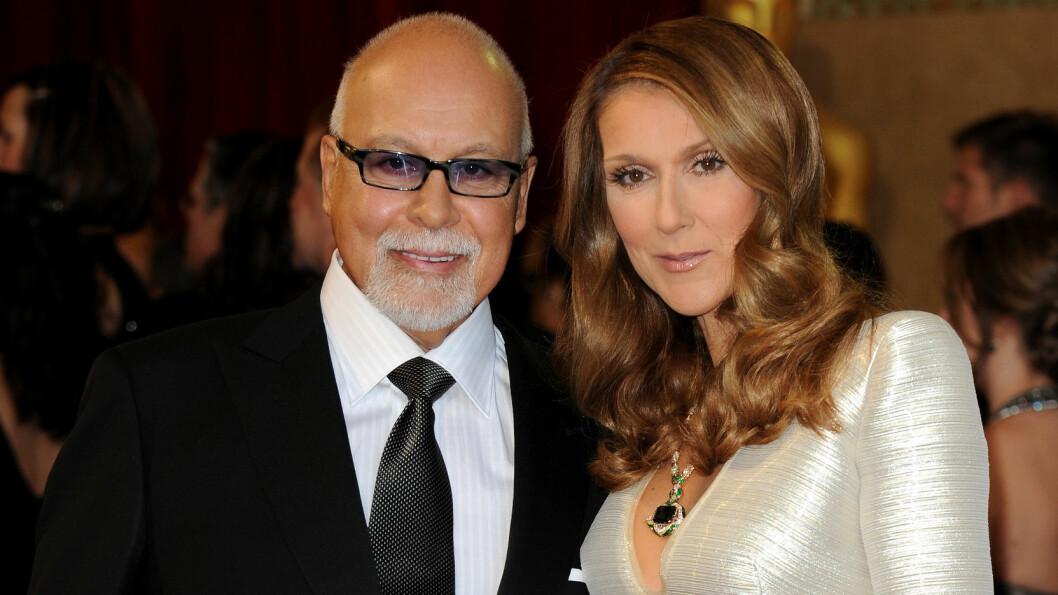 MISTET EKTEMANNEN: Céline Dion mistet ektemannen den 14. januar etter en lang kamp med kreftsykdom.  Foto: Abaca