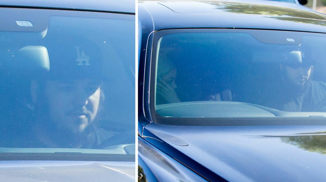 SKJEGGETE OG SLANKERE: Amerikanske medier påpeker at Rob Kardashian tilsynelatende har gått ned litt i vekt, i tillegg til å anlegge skjegg den siste tiden. Onsdag ble han og Blac Chyna fotografert sammen (bildene). Foto: Splash News