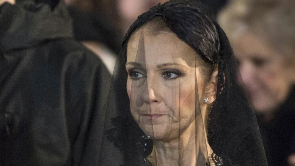 KNUST: Céline Dion har mildt sagt hatt noen vanskelige uker. Fredag begravet hun ektemannen, mens mandag ble storebroren gravlagt.  Foto: Pa Photos