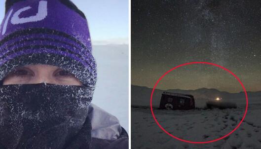 Ellie Goulding gikk gjennom isen i Norge