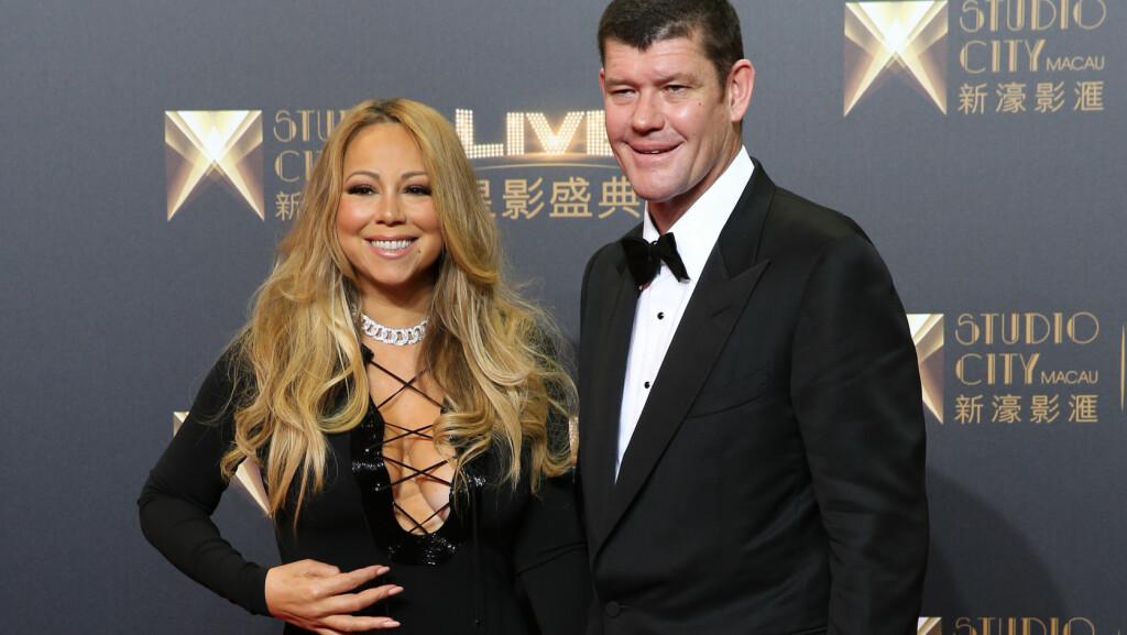 GIFTEKLARE: Stjerneparet Mariah Carey og James Packer har ifølge flere amerikanske medier forlovet seg, under ett år etter at de ble et par.  Foto: Ap