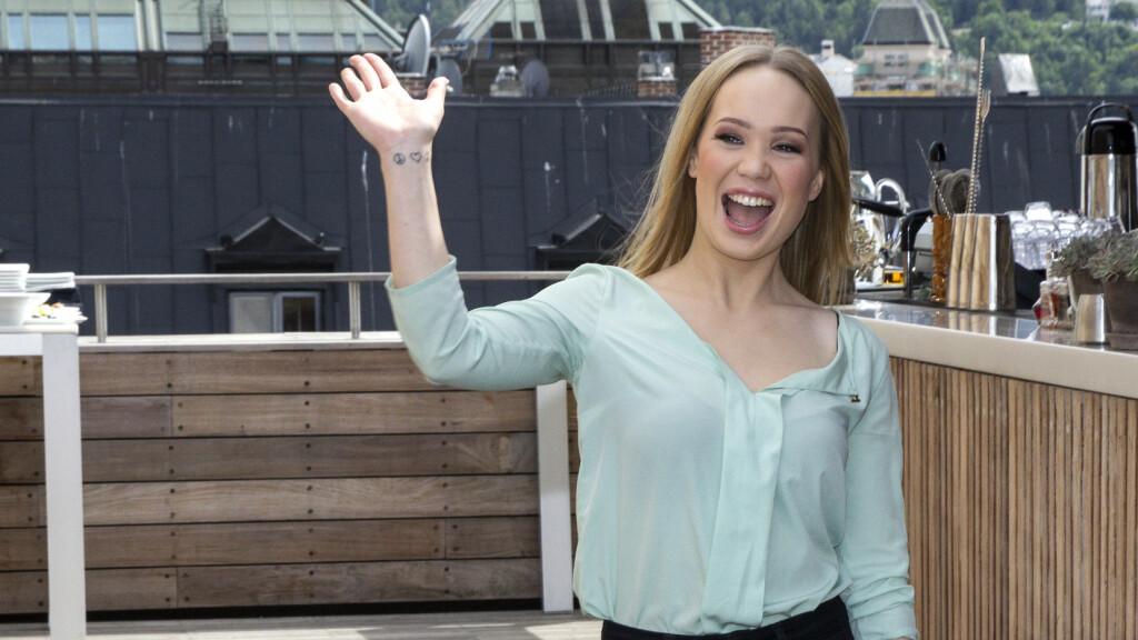 KLAR FOR MGP 2016: Agnete Johnsen har tidligere vært med i «Stjernekamp» og «Skal vi danse». Nå er hun klar for å prøve seg i Melodi Grand Prix. Her er hun avbildet i 2014. Foto: Andreas Fadum
