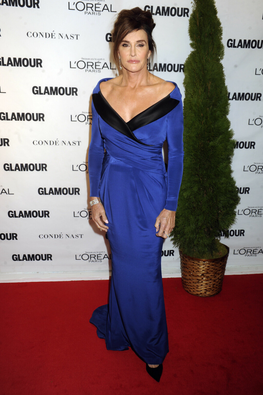 "BLE HEDRET: I november vant Caitlyn prisen ""Trans Champion"" under Glamour's Women of the Year Awards i New York. Foto: NTB Scanpix"