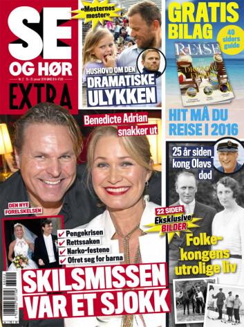 LES OGSÅ: I nyeste nummer av Se og Hør Extra kan du lese mer om May Lisbeth Myrvangs tur til Hellas. Foto: Se og Hør