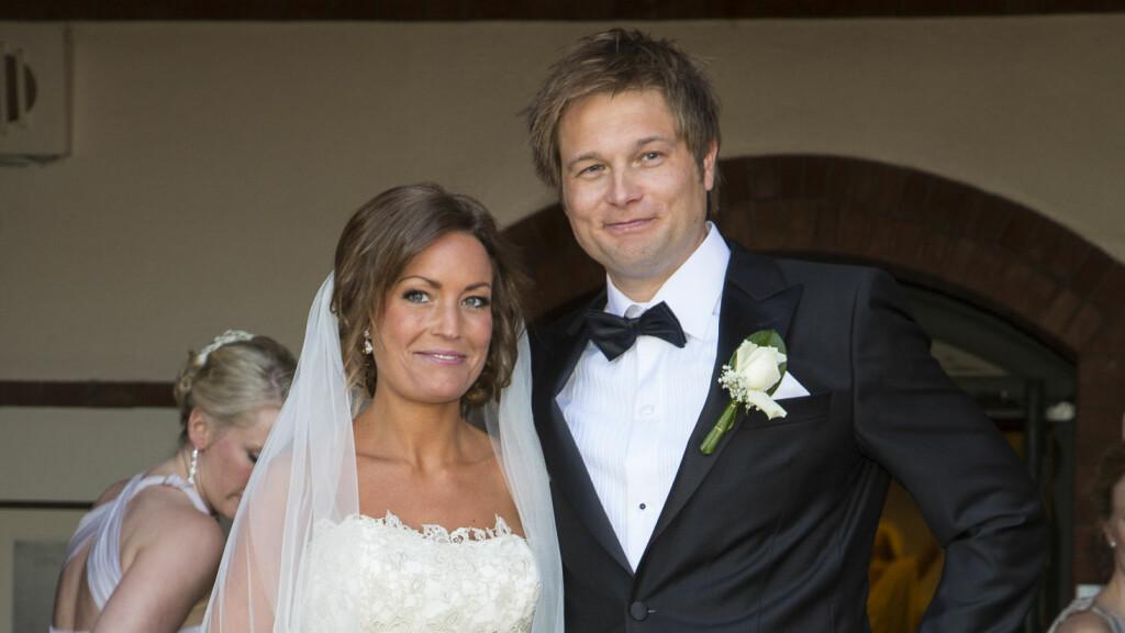KOMMENDE FORELDRE: Gaute Ormåsen og kona Marie Enoksen venter sitt første barn sammen.  Foto: Se og Hør